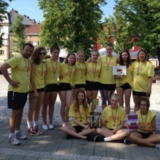 Internationales Turnier der U16w in Polen